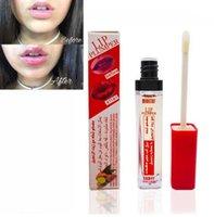 MINISTAR 핫 프로 메이크업 방수 액체 립스틱 오래 지속되는 슈퍼 볼륨 통통 그것은 립글로스 화장품 아름다움