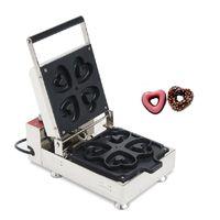 BEIJAMEI 110v 220v электрический выпечки сердце формы пончика машина автомат пончика пекарь машина мини пончик, делая машину