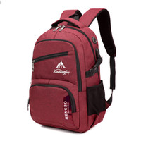 New Arrival. Fashion Men Backpack Vintage Oxford Male Outdoor Hiking Travel  Bags Large Capacity Laptop Big Backpack Student BackBag 6c2dd4215853a