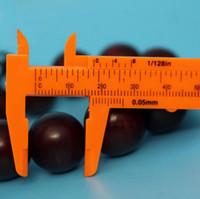 Herramientas de medición de plástico mini VERNIER 1 mm / Mini Regla micrómetro calibrador de 80 mm de longitud Mediciones VERNIER