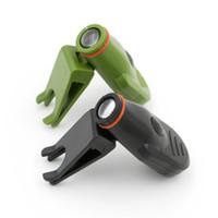 다기능 크리 어 LED 뚜껑 램프 뚜껑 - 가장자리 램프 미니 작은 손전등 야외 조명