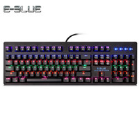 E - 3LUE K757 Gaming Mechanical Keyboard for Gamers with Col...