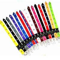 Sport Brand Clothing Lanyard Detachable Keychain ID Card Bad...