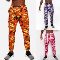 2018 Coton Hommes Camouflage Camo Camo Armée Pantalon Casual Coton Elastic Hommes Fitness Pantalon Skinny Pantalons Jogger