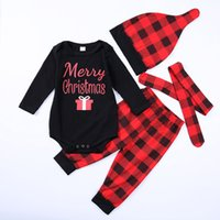 Baby Christmas Costumes Kids Clothing Set Newborn Infant Bab...