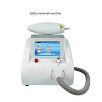 Professionale Clinica Bellezza Tatuaggio Touch Screen Screen Q Switched ND YAG Laser Beauty Machine Rimozione del tatuaggio Rimozione della cicatrice ACNE Rimozione da cicatrice 1000W