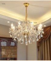 대형 크리스탈 샹들리에 조명 램프 럭셔리 패션 현대 프로모션 샹들리에