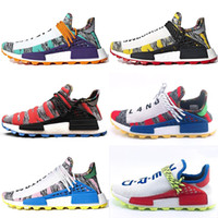 PW Human Race Trail X Pharrell Williams Mens Women Running S...