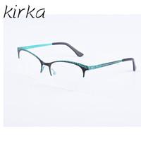 Kirka Retro Óculos Ópticos Mulheres Miopia Leitura Prescrição Armações de  Óculos Armações de Óculos de Olho 94d0c6f39e