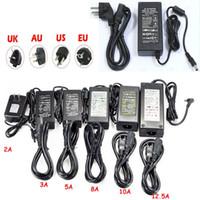 Adattatore del trasformatore LED Alimentazione di commutazione 110-240V AC DC 12V 2A 3A 4A 5A 6A 7A 8A 10A Strip Light 5050 3528