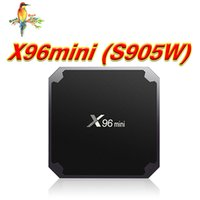 s905w smart Android 7.1 box x96 mini tv box android quad core amlogic 4K * 2K 60fps WiFi DLNA scommessa MXQ PRO 4K rk3229