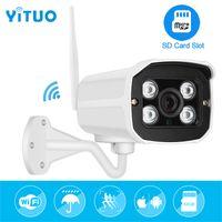 Yituo Mini 1080 * 1920p WiFi IP-kamera Audio Vattentät HD-nätverk 1.0mp WiFi Camera Nignt Vision Outdoor Wireless Bullet Camera