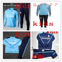 kids Olympique de Marseille TRACKSUIT jacket Training suit s...