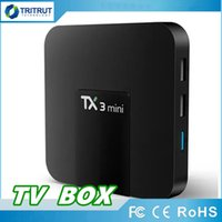 TX3 mini Smart Android 7.1 TV BOX de 2GB 16GB Amlogic S905W Quad-Set-top box H.265 4K 2.4GHz WiFi IPTVBox TX3mini 1GB 8GB MQ14