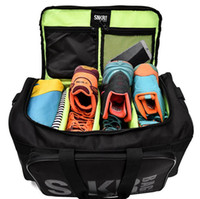 2019 Nylon impermeabile Sport Bag Duffle Bag Sneakers Fitness Bagagli Uomini Donne Gym Shoulder Shoulder Borse da viaggio Crossbody Shoes Borse