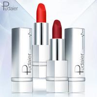 2018 nouveau rouge à lèvres Pudaier série de velours rouge à lèvres mat brumeuse 17 couleur rouge à lèvres mat nu (de 11-17color)