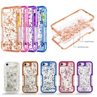 3 in 1 Luxury Bling Glitter Soft TPU Hard PC Defender Heavy ...