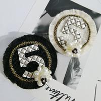사랑에 대한 여자 여자 진주 라운드 꽃 NO5 브로치 한 접점 rRound 브로치 양복 옷깃 핀 패션 보석 선물