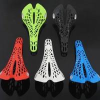 Cuscino Ultraleggero Sedile Ammortizzatore Assorbimento Scavato Design Selle per Bici Spider Web Bike Sella Vendita Calda 85mm B