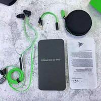 Razer Hammerhead Pro V2 kulak kulaklık w / mikrofon Perakende Kutu Kulak Oyun kulaklıklar Gürültü İzolasyonu Stereo Bas 3.5mm ücretsiz DHL