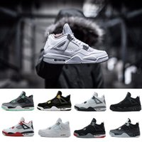 2018 4 IV 4s Basketball Shoes men 4s Pure Money Royalty Whit...