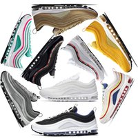 NIKE AIR MAX 97 Barato 97 South Beach Persian Violet zapatillas 97s x OG UNDFTD Triple blanco negro Grape Men mujeres zapatillas deportivas Sneaker 36-46