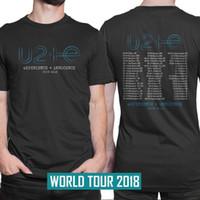 Compre U2 Experience Innocence Tour 2018 Camiseta Hombre Talla S A ... 5c98212f9c095