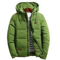 4f9558e58874d Camperas hombre 2016 invierno kış ceketler mens moda uzun kollu slim fit  mens aşağı parka boyutu