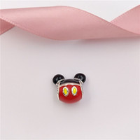 Authentic 925 Sterling Silver Beads Miky Mouse Playful Icon ...