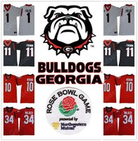 Rose bowl 2019 Play off Georgia Bulldogs NCAA Jersey #1 Just...