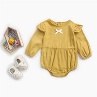 New Little Girls Boutique Clothing Cotton Autumn Girls Bodys...