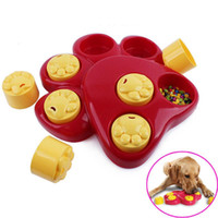 Pet Dog Bowl Feeder Divertente Slow Eating Dish Pet Bowl Trova Food Bowl Healthy anti choke prevenire Gluttony Obesity Puzzle Feeder