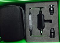 Kablosuz Razer Hammerhead V2 BT Bluetooth Kulaklık Kablosuz kulak kulaklık Perakende Kutusu Ile Mikrofon Ile kulak Oyun kulaklıklar
