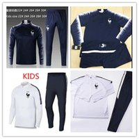 Two stars FRENCH SOCCER SET 2018 19 KIDS veste survêtements ...