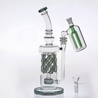 32cm Beaker Two Function Glass Bongs Joint 14. 4mm Ash- Catche...