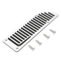 1 Set Car Aluminum Footrest Rest Gas Pedal Pad for for Volvo...