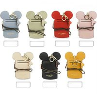 cartoon ear letter happy dream Lanyard neck strap card holde...