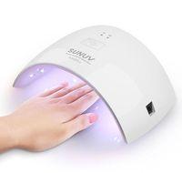 مصباح الأشعة فوق البنفسجية LED 36W 18W مجفف الأظافر لجميع المواد الهلامية مع زر 30s / 60s Perfect Thumb Solution