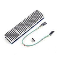 무료 배송! 1pc MAX7219 도트 매트릭스 모듈 8x32 MCU 제어 드라이브 모듈 디스플레이 드라이브 모듈 LED 매트릭스 Max7219 LED 매트릭스 컨트롤러
