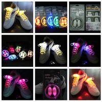 Lacets Cool LED de 3ème génération éclairent les lacets de chaussures avec 3 modes Éclairage flash la nuit pour la fête Danse hip-hop Cyclisme Randonnée pédestre LIVRAISON GRATUITE