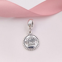 Authentic 925 Sterling Silver Beads Vancouver Charms Fits Eu...