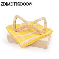 New fashion popular Wooden butterfly gravata party bowtie we...