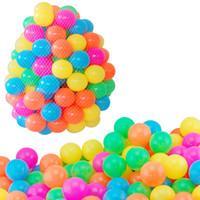 50 шт. 6 см Бассейн Шарики Eco-Friendly Мягкий океан Мяч Красочный купальный бассейн Пластиковые шарики Палатка Игрушка дома