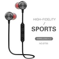 Wireless Headphone Sport Waterproof Sweat Proof Earphone Mag...