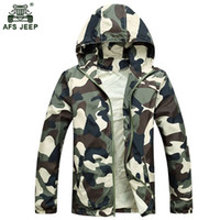 2018 Hot Sale Mens Outwear Thin Jackets Coats Fashion Camouf...
