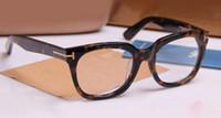 العلامة التجارية نظارات الرجال والنساء TF5179 الأزياء وصفة طبية النظارات خلات إطار النظارات البصرية كبيرة مع القضية