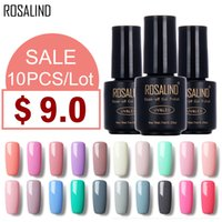 (Choose 10)ROSALIND Gel Nail Polish 118 Nude Color Black Bot...