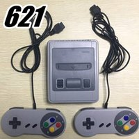 White Black Mini Console Video Handheld for SFC games consol...