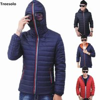 Hooded with Glasses winter jacket men New Winter Warm Fancy ...