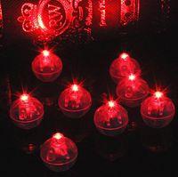 Мини-огни круглой формы баллонная лампа, мини-светодиодный шар воздушный шар свет для бумажного фонаря свадьба рождественская вечеринка украшения